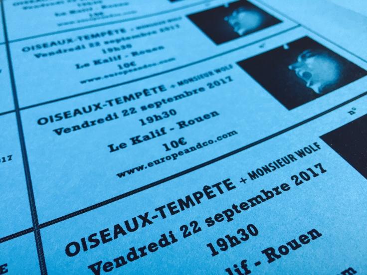 Tickets Oiseaux-Tempête